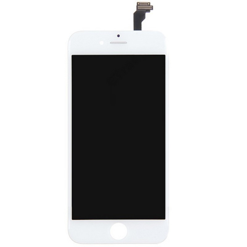 IPHONE 6 LCD SCREEN AND DIGITIZER ASSEMBLY WHITE PREMIUM QUALITY