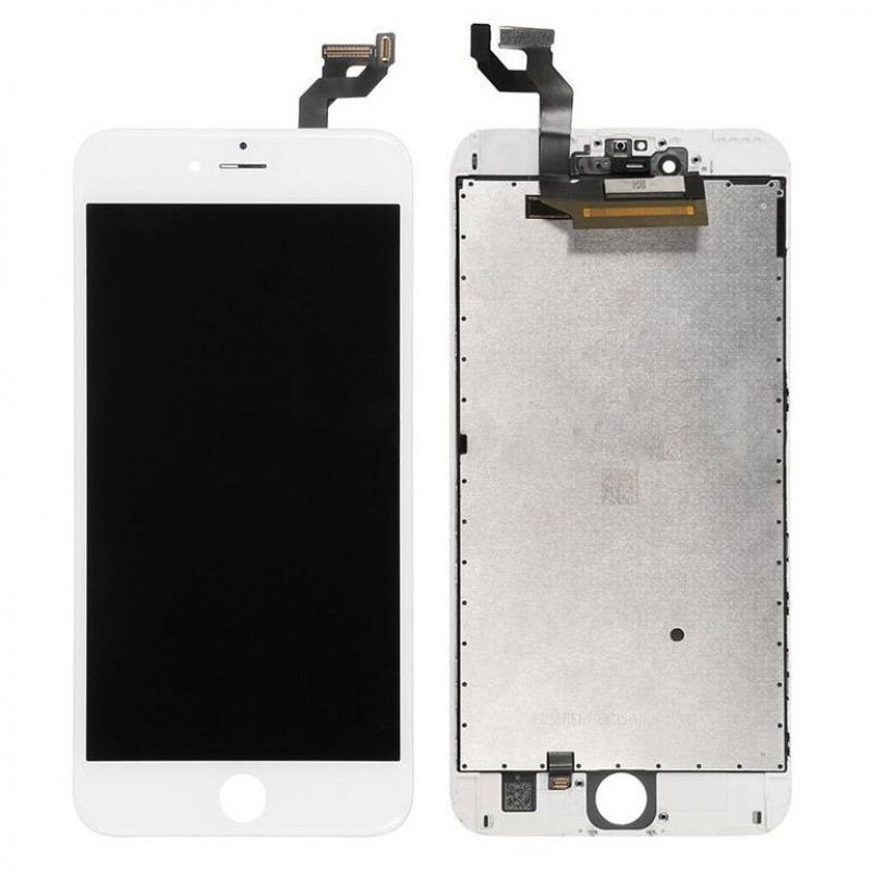 IPHONE 6S PLUS LCD SCREEN AND DIGITIZER ASSEMBLY PREMIUM QUALITY WHITE