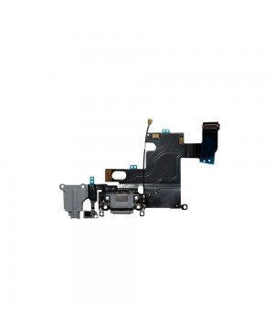 iPhone 6 (4.7″) Charging Port with Flex Cable/Mic/Antenna Wire and Headphone Jack – Gray