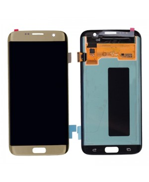 Galaxy S7 Edge LCD with Digitizer – Gold