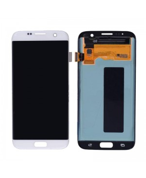 Galaxy S7 Edge LCD with Digitizer  – White