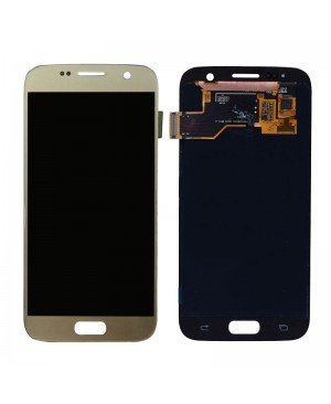 Galaxy S7 LCD with Digitizer – Gold
