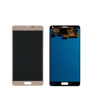 Note 4 LCD with Digitizer – Gold