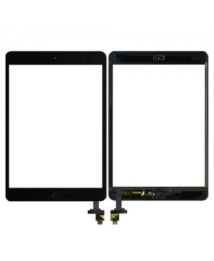 iPad Mini Digitizer with Home Button Assembly  – Black