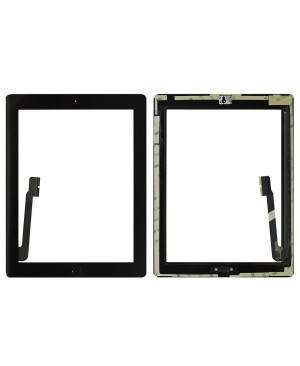 iPad 4 Digitizer with Plain Home Button Assembly OEM Quality– Black