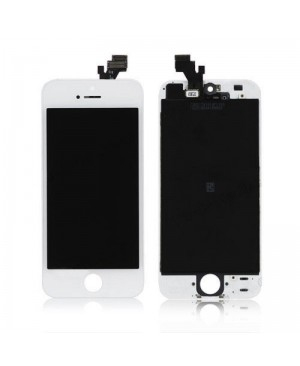 IPHONE 5 LCD SCREEN AND DIGITIZER ASSEMBLY WHITE OEM QUALITY