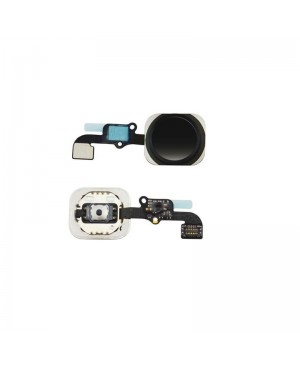 iPhone 6S Plus Home Button Key with Flex Cable – Black