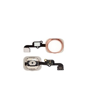 iPhone 6S Home Button Key with Flex Cable- Rose Gold
