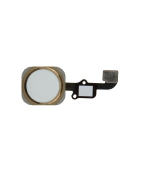 iPhone 6 Plus (5.5″) Home Button Key with Flex Cable- Gold