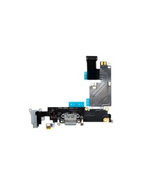 iPhone 6 Plus (5.5″) Charging Port with Flex Cable/Headphone Jack & Mic – Black