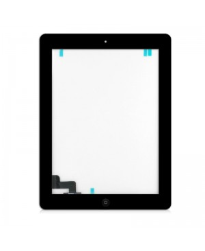 IPAD 2 TOUCH SCREEN DIGITIZER ASSEMBLY WITH HOME BUTTON BLACK PREMIUM QUALITY