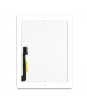 APPLE IPAD 3 TOUCH SCREEN DIGITIZER ASSEMBLY WITH 3M TYPE HOME BUTTON WHITE OEM