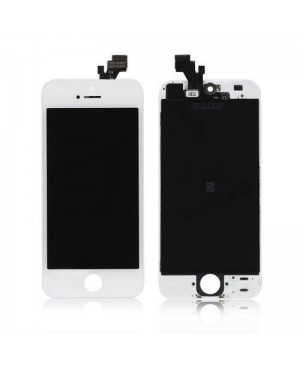 IPHONE 5 LCD SCREEN AND DIGITIZER ASSEMBLY WHITE PREMIUM QUALITY