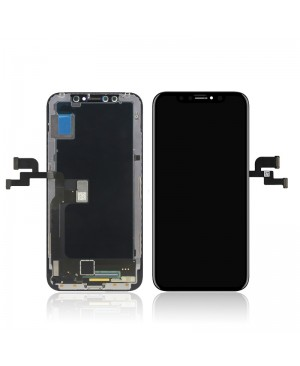 IPHONE X 10 OLED SCREEN AND DIGITIZER ASSEMBLY WHITE PREMIUM QUALITY